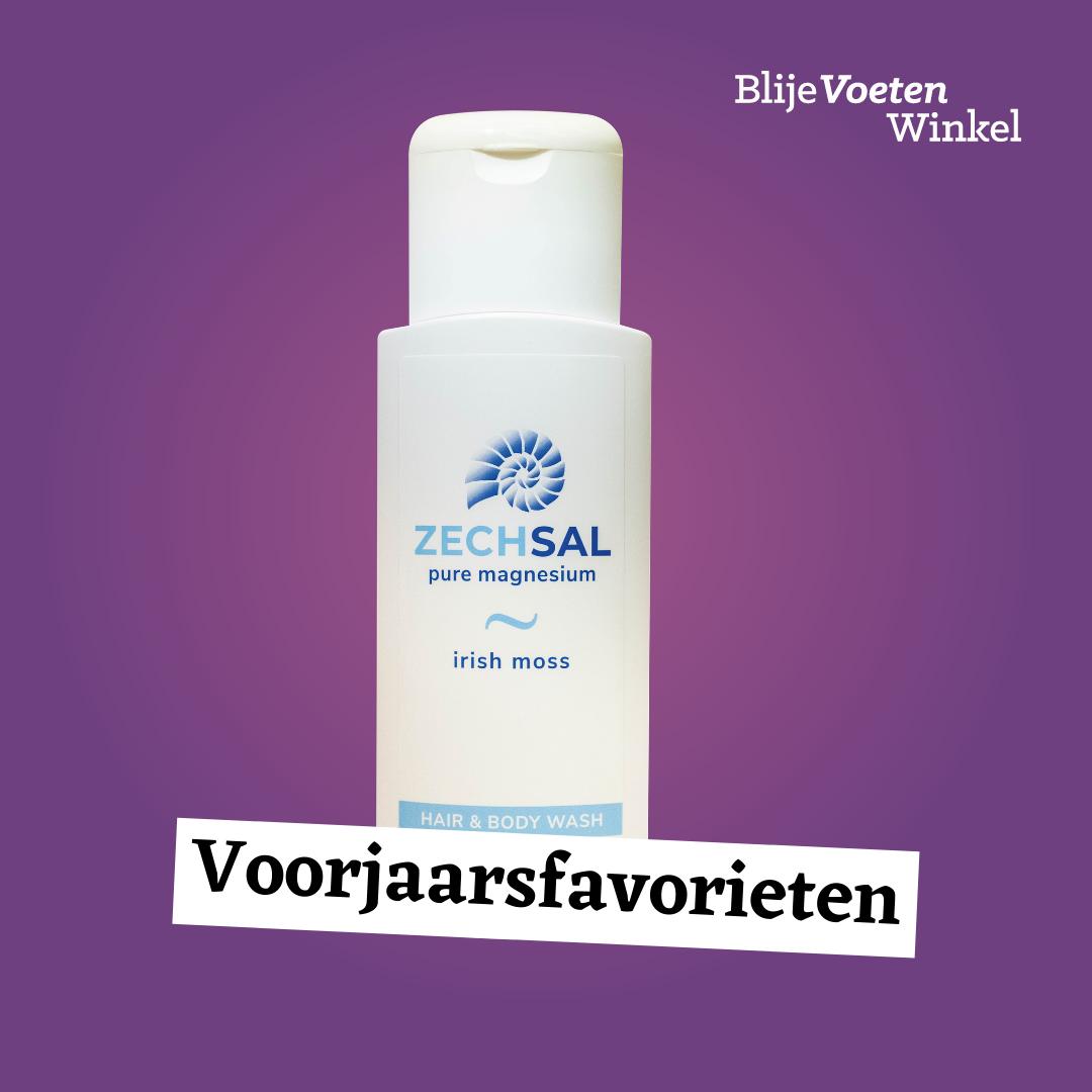 voorjaarsfavoriet magnesium body hair shampoo Zechsal
