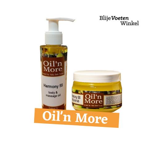 Oil 'n More Harmony 55 Scrub & massage oil