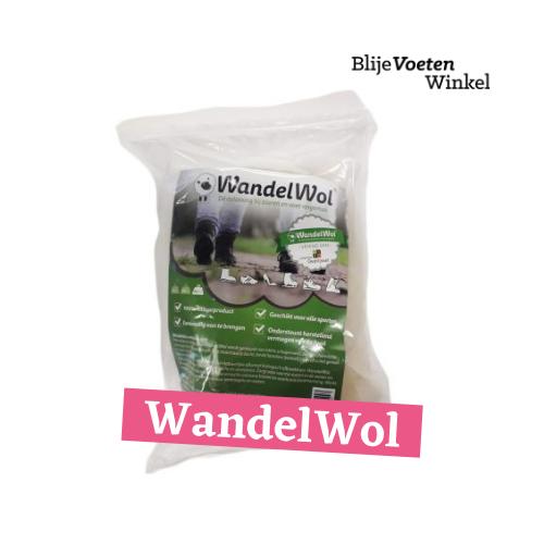wandelwol antidruk-wol blaren preventief likdoorn pijn voeten