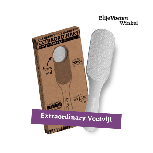 Extraordinary voetvijl Brazz Care