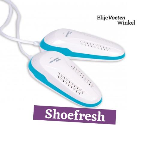 shoefresh zweetvoeten droge schoenen
